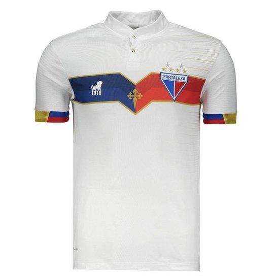 09ceed1d0c46a Camisa Leão 1918 Fortaleza III 2018 Centenário Masculina - Branco ...