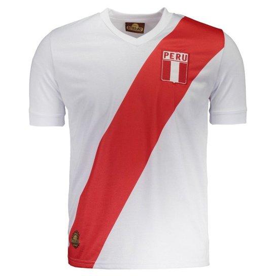 480739ec29 Camisa Peru Retrô N° 10 Masculina - Branco - Compre Agora