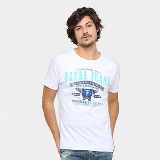 f78c057bfa1 Camiseta Fatal Gola Careca F Jeans Masculina