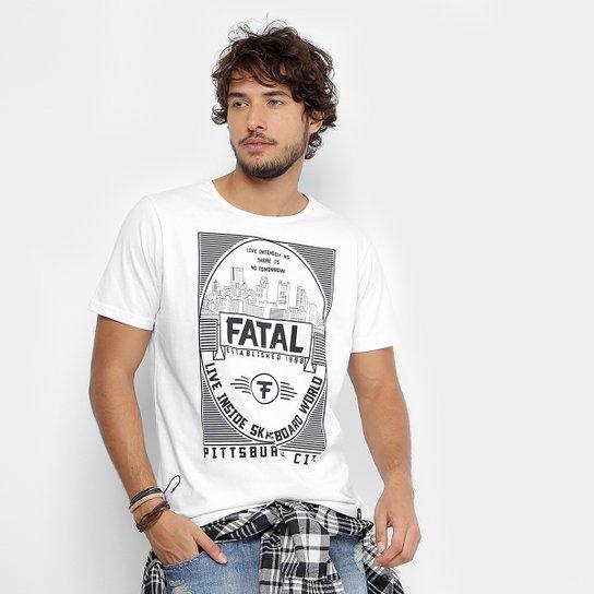 Camiseta Fatal Skateboard World Masculina - Compre Agora  1f48bcbe7a9