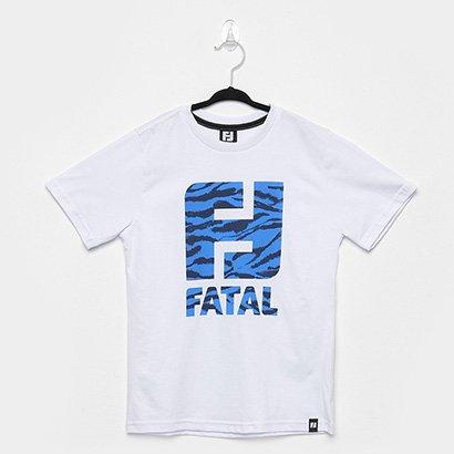 Camiseta Infantil Fatal Estampada Manga Curta Masculina