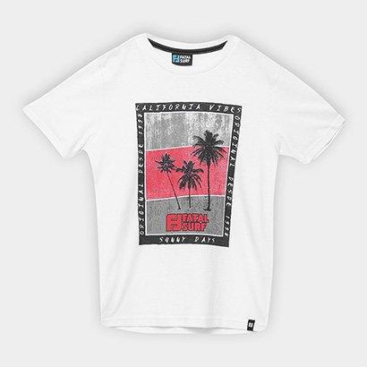 Camiseta Infantil Fatal Coqueiros Masculina