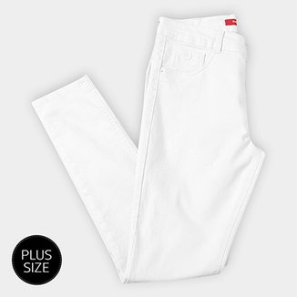 9275089e64b Calça Sarja Skinny Biotipo Básica Cintura Alta Alice Plus Size Feminina