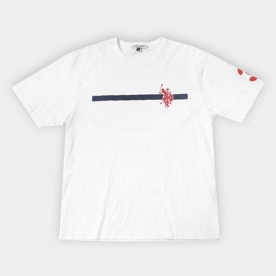 Camiseta U.S.Polo Assn Estampada Plus Size Masculina - Compre Agora ... 8492696a644
