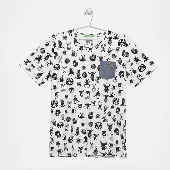 3579a2ad8 Camiseta Infantil Colcci Fun Estampada Masculina | Netshoes