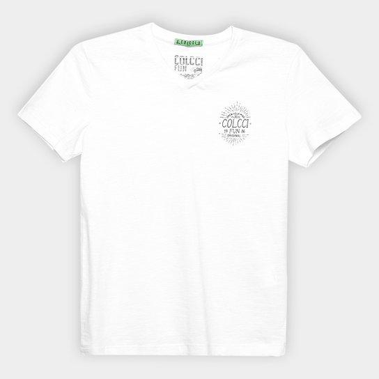 24ee33173 Camiseta Infantil Colcci Fun Básica Logo Masculina | Netshoes