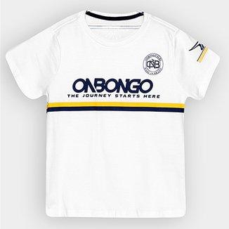 Camiseta Promocional Onbongo Infantil de215c8af698a