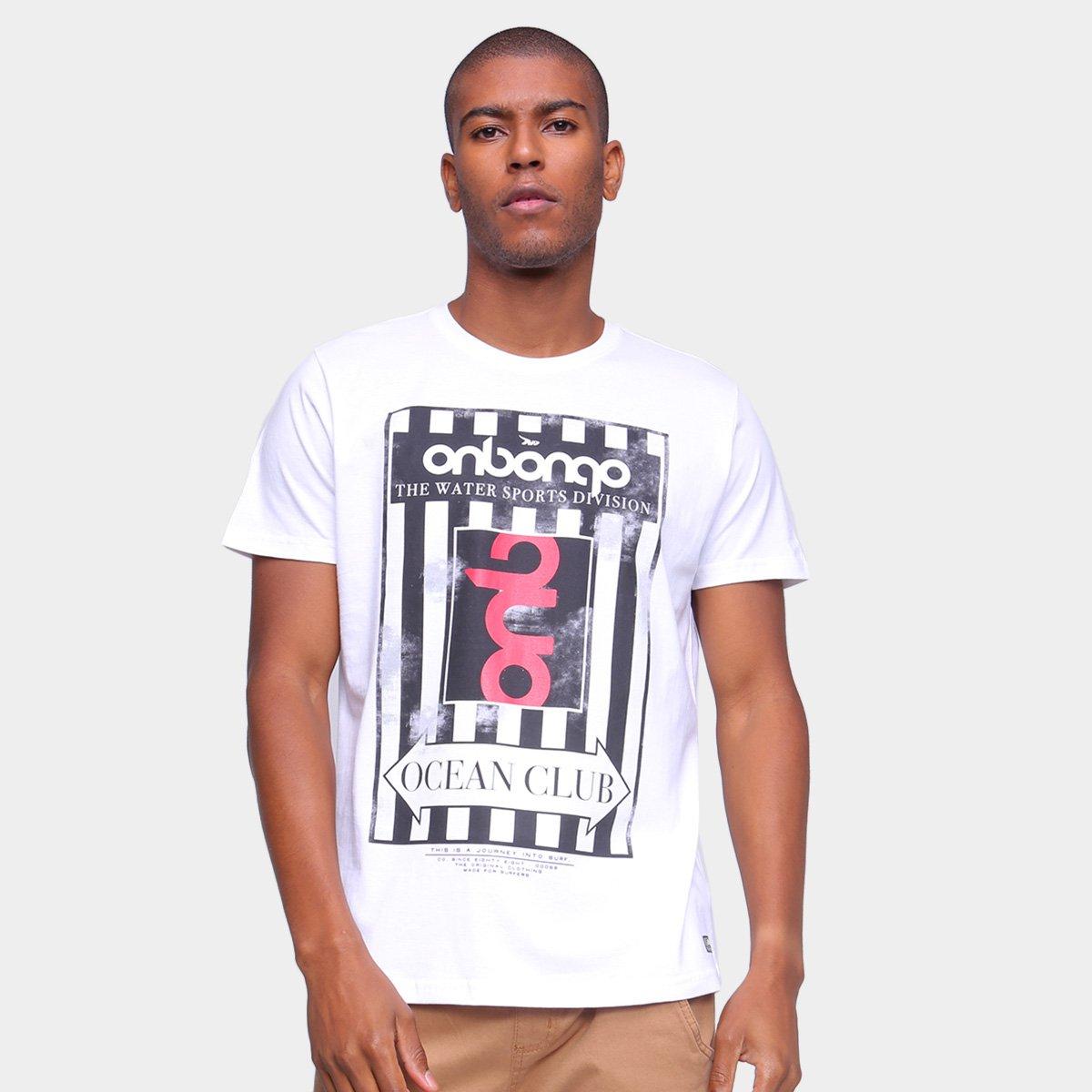 Camiseta Onbongo Estampada Ocean Club Masculina