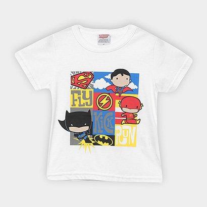 Camiseta Infantil Marlan Liga da Justiça