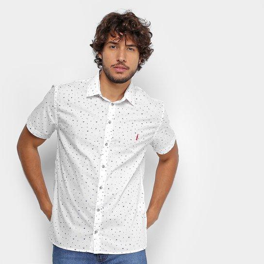 Camisa Coca-Cola Manga Curta Estampada Masculina - Branco - Compre ... 48780db2f9e10