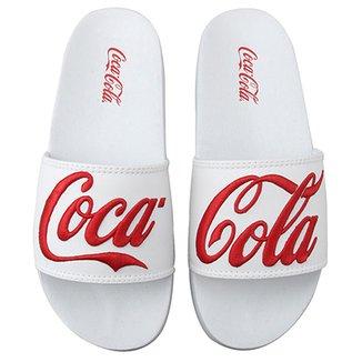 23633e3d3 Slide Coca Cola Detalhe Bordado Masculino