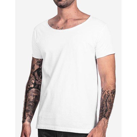 4dd6e362d Camiseta Hermoso Compadre Básica Gola Canoa Masculina - Branco ...