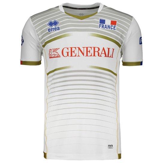 Camisa Errea França Vôlei Away 2017 - Compre Agora  938d068f394ef