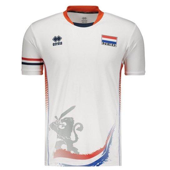 Camisa Holanda Vôlei Third 2017 Errea Masculina - Compre Agora ... ad5899891eb9d