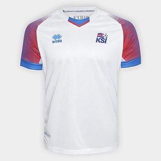 b6da34e22c Camisa Seleção Islândia Away 2018 s n° Torcedor Errea Masculina