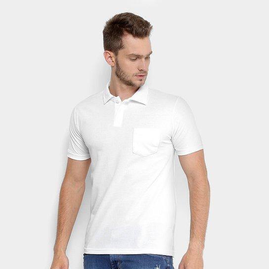 Camisa Polo Tigs Piquet Básica Masculina - Branco - Compre Agora ... 52dc16fe3fa89