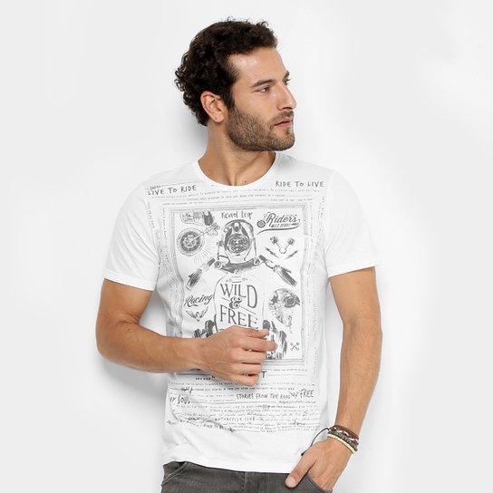 f8a94c45e2 Camiseta Kohmar Wanderlust Masculina - Compre Agora
