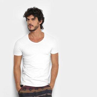 e70b59952f Camiseta Kohmar Cotton Gola V Masculina