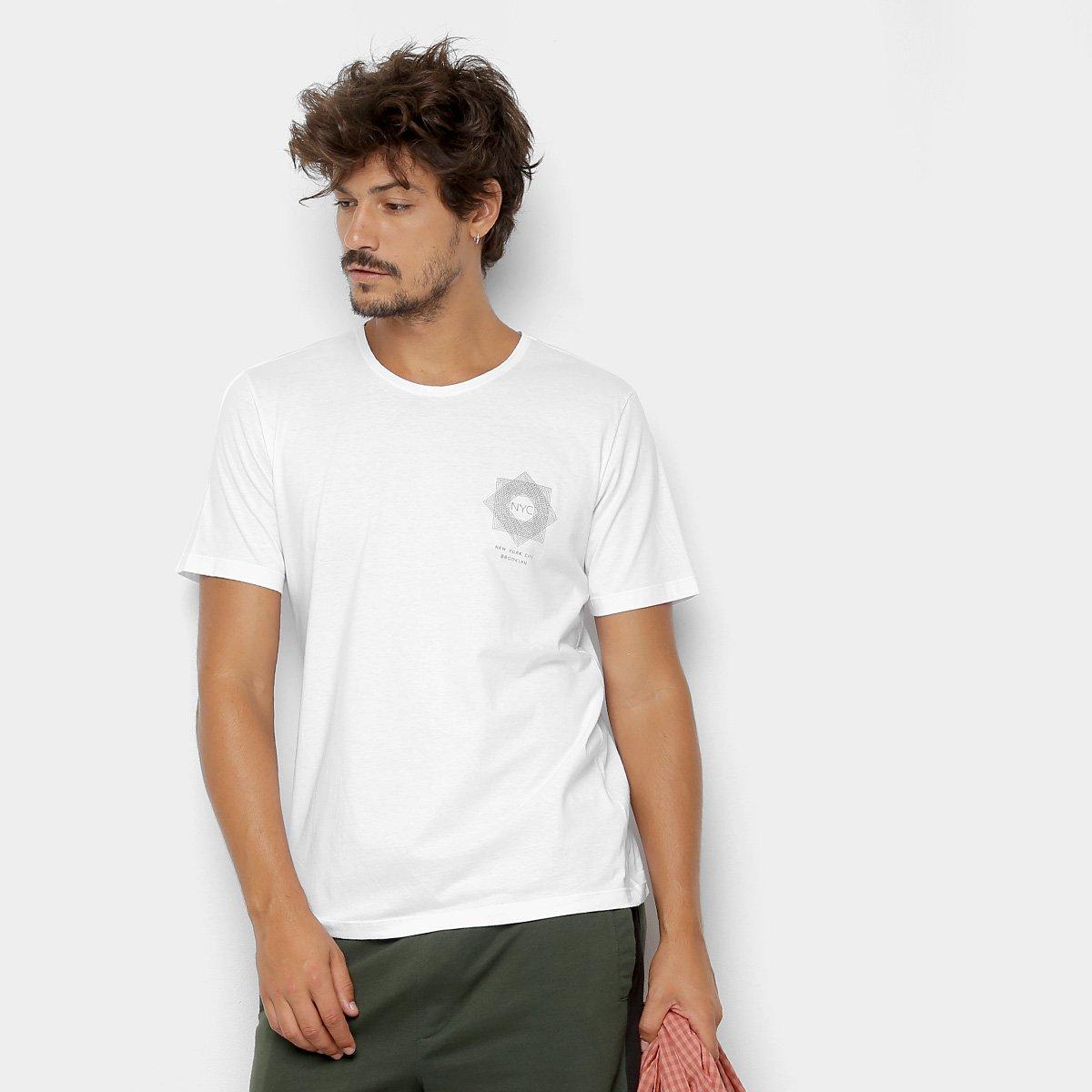 Foto 1 - Camiseta Kohmar Lisa Meia Malha Masculina