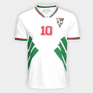 Camiseta Bulgária 1994 Retrô Times Masculina 12c85dcbdc2c7