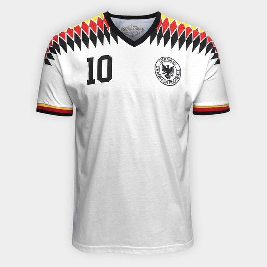 84c2e3309e Camiseta Alemanha 1994 Retro Times Masculina - Compre Agora