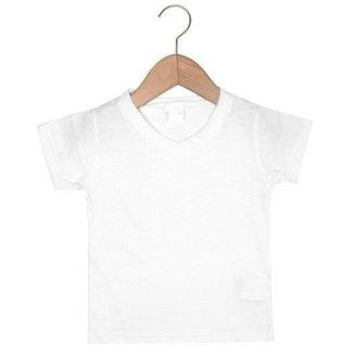 Camiseta Infantil Boca Grande Básica Gola V Flame Masculino 7139dd42d25