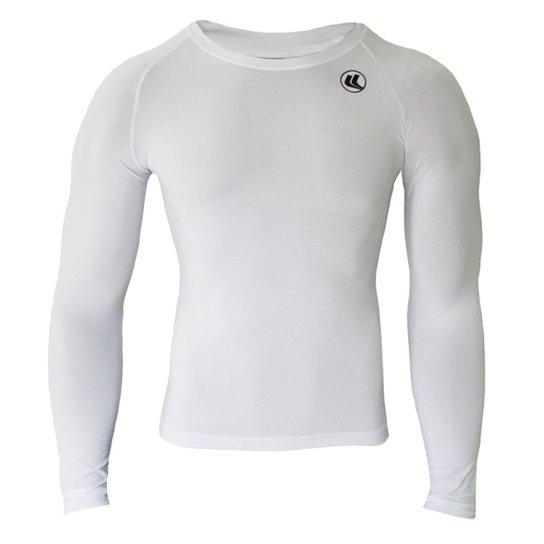 b73465abc8 Camisa Térmica EL Fator UV Manga Longa Poliamida - Branco - Compre ...