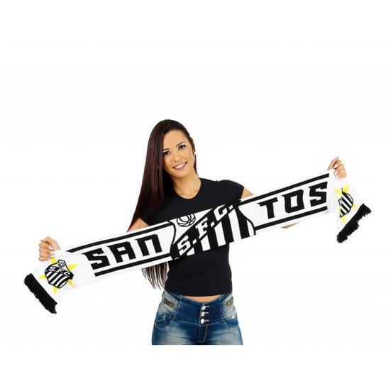 Cachecol Santos FC dupla face - Compre Agora  6fa1f79a26b