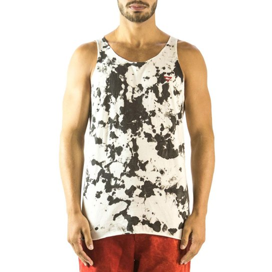 Regata Brohood Mancha Masculina - Branco - Compre Agora  76aca706d5e