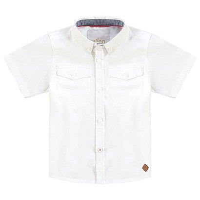 Camisa Infantil Milon Tricoline Masculina