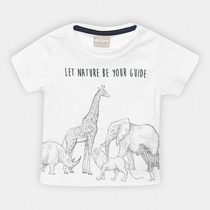 Camiseta Infantil Milon Flamê Masculina