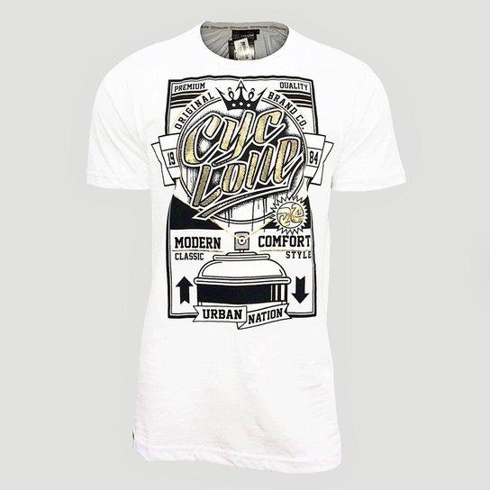2790f1e8de Camiseta Cyclone Spray Metal Masculino - Compre Agora