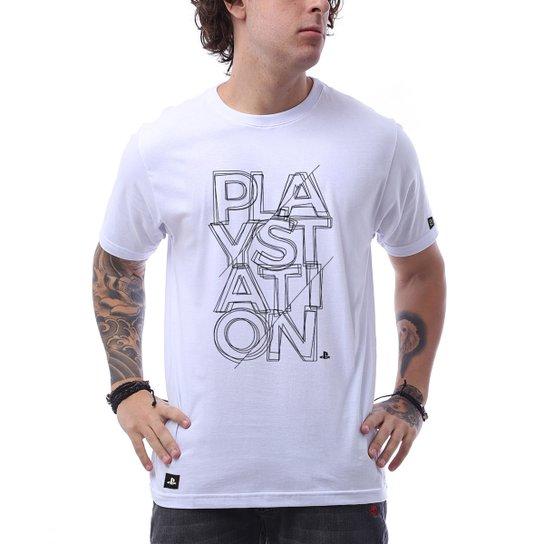 d58f1f9df6 Camiseta Playstation Fractal Masculina - Compre Agora