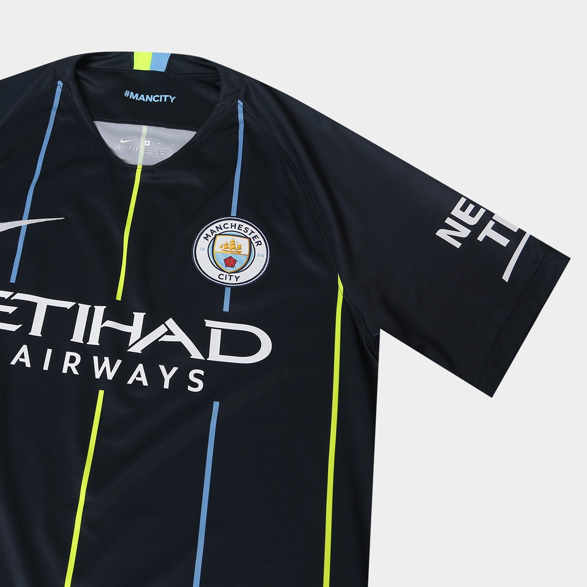 264ad80abb Camisa Manchester City Away 2018 s n° - Torcedor Nike Masculina ...