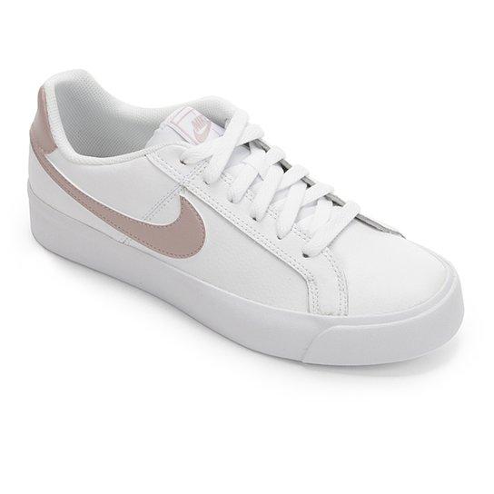 fbc22f41a3f Tênis Nike Court Royale Feminino - Branco - Compre Agora