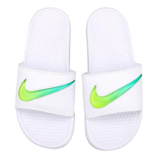 61c95273bc06a Sandália Nike Benassi Jdi Se Masculina - Branco | Netshoes