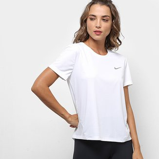 02d27a4ab31 Camiseta Nike Miler Top Ss Feminina