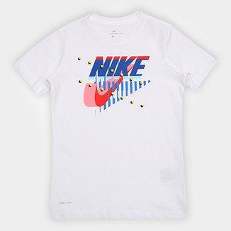 Camiseta Infantil Nike B Dry Tee Dfc Futura Matrix-Ar c2694748f7ca9