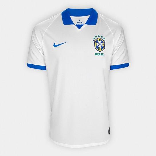 a783855828 Camisa Seleção Brasil III 19/20 s/nº Torcedor Nike Masculina - Branco