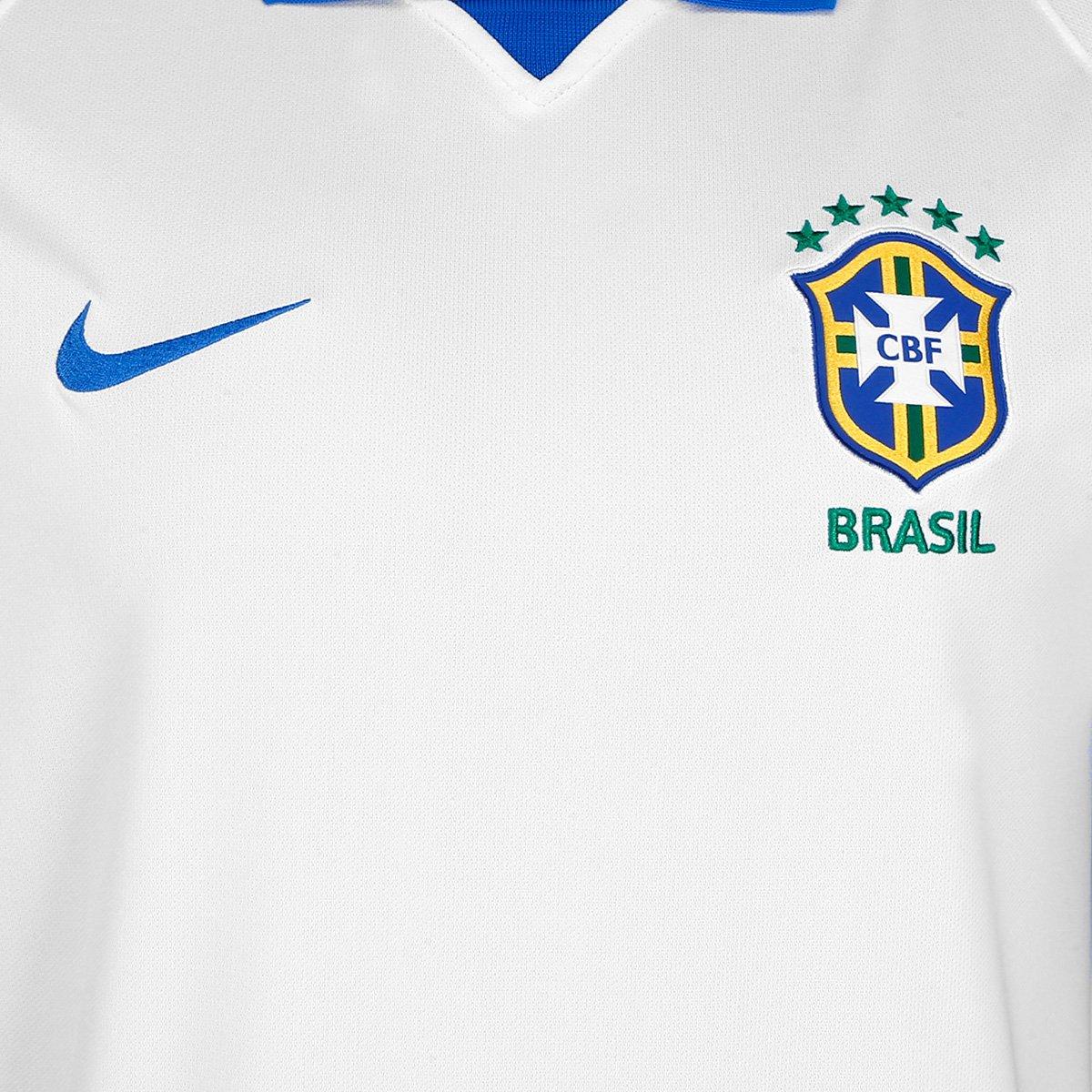 Camisa Seleção Brasil III 19/20 s/nº Torcedor Nike Masculina - Tam: M - 2