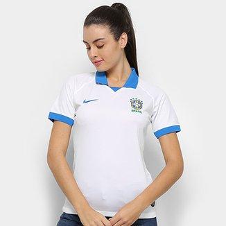 c568db0b1474a Camisa Seleção Brasileira III 19 20 s n° - Torcedor Nike Feminina