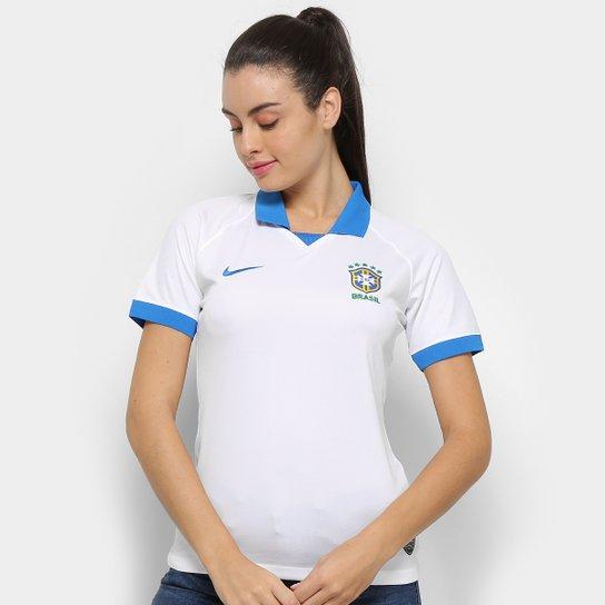 a93062681 Camisa Seleção Brasileira III 19 20 s n° - Torcedor Nike Feminina ...