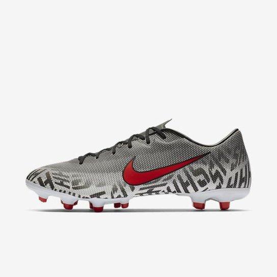 5060410ac1 Chuteira Nike Mercurial Vapor XII Academy Neymar Campo - Branco ...
