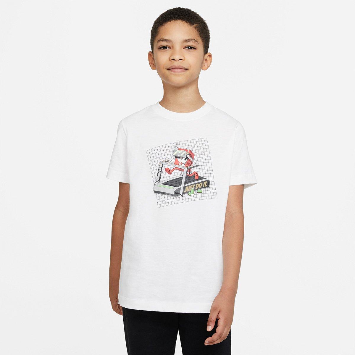 Camiseta Infantil Nike Nsw Tee Boxy Vr Masculina