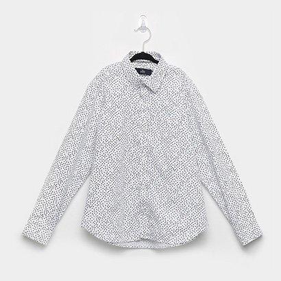 Camisa Infantil Yacht Estampada Manga Longa Masculina