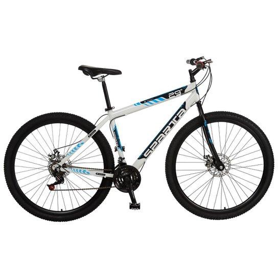 96e19b9a2 Bicicleta Colli Sparta MTB A29 21M Aro Aero Freios a Disco - 415 - Branco