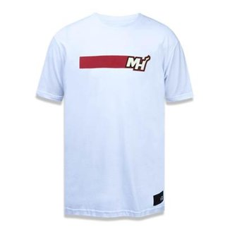 4d40414d9 Camiseta Miami Heat NBA New Era Masculina
