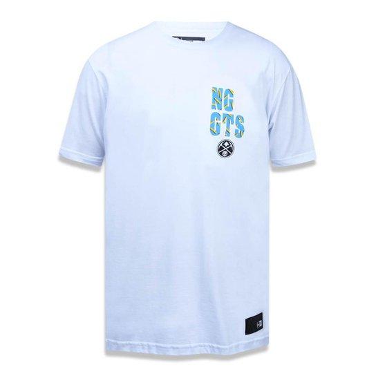 20c50df7c08 Camiseta Denver Nuggets NBA New Era Masculina - Branco - Compre ...