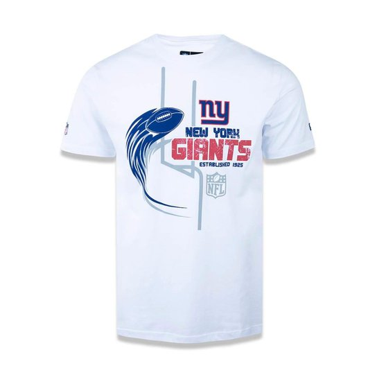 a33af110ea Camiseta New York Giants NFL New Era Masculina - Branco - Compre ...