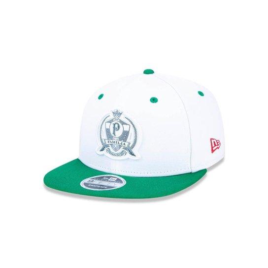Boné 950 Original Fit Palmeiras Futebol Aba Reta Snapback New Era - Branco d0a3b6e8e02
